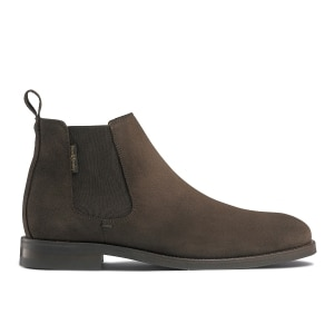 62c091c85b547 BURLINGTON Chelsea Boot in Brown Suede | Russell & Bromley