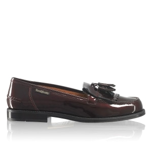 dbdcc8c3f44 CHESTER Tassel Loafer in Red Patent | Russell & Bromley