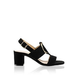 d72da06a263 Leather Heel Sandals | Women's Slingback Shoes | Russell & Bromley