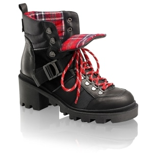 dbbcb3bf7f78 MACLOUD Hiker Boot in Black Leather
