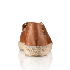 e24de0f14b8 CANDYCRUSH Eyelet Trim Espadrille in Brown Leather | Russell & Bromley