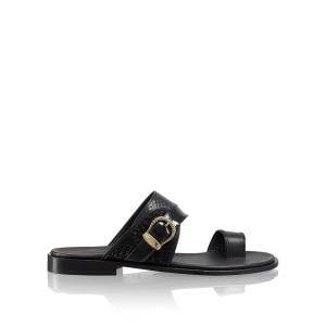 c91508cc7fa1 Men s Leather Sliders   Toe-Post Sandals