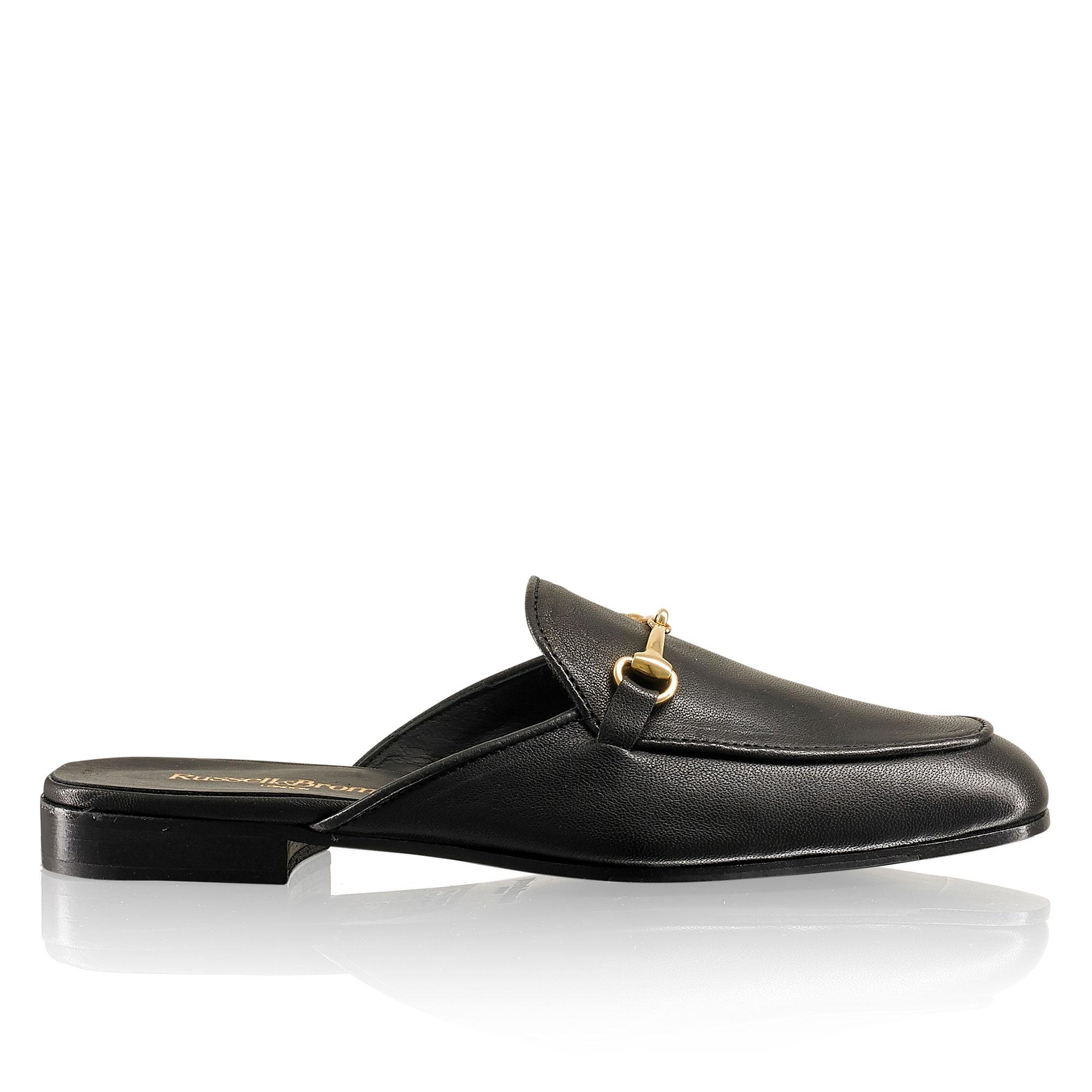 LOAFERMULE Backless Loafer in Black